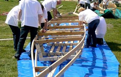 Teamtraining Bootsbau als Teambuilding zur Personalentwicklung an der Ostsee Lübeck, Timmendorfer Strand